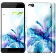 Чехол для HTC One X9 цветок 2265m-783