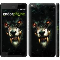 Чехол для HTC One X9 Дьявольский волк 833m-783