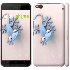 Чехол для HTC One X9 Гекончик 1094m-783