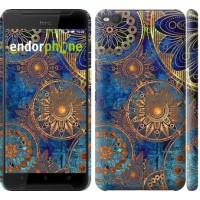 Чехол для HTC One X9 Золотой узор 678m-783