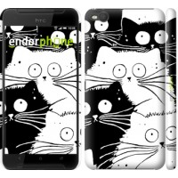 Чехол для HTC One X9 Коты v2 3565m-783