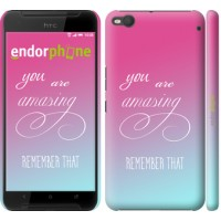 Чехол для HTC One X9 Памятка для девушек 3701m-783