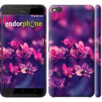 Чехол для HTC One X9 Пурпурные цветы 2719m-783