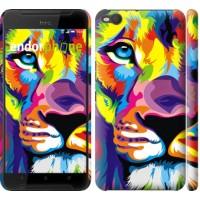 Чехол для HTC One X9 Разноцветный лев 2713m-783