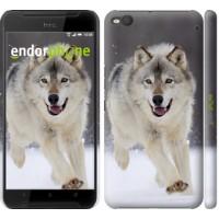 Чехол для HTC One X9 Бегущий волк 826m-783