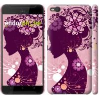 Чехол для HTC One X9 Силуэт девушки 2831m-783