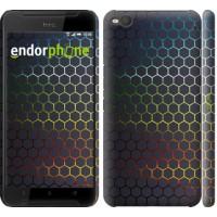 Чехол для HTC One X9 Переливающиеся соты 498m-783