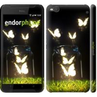 Чехол для HTC One X9 Светящиеся бабочки 2983m-783