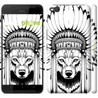 Чехол для HTC One X9 Тотем волка 3484m-783