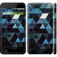 Чехол для HTC One X9 Треугольники 2859m-783