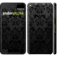 Чехол для HTC One X9 узор черный 1612m-783