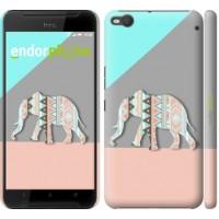 Чехол для HTC One X9 Узорчатый слон 2833m-783
