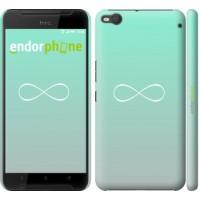 Чехол для HTC One X9 Знак бесконечности 3204m-783