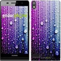 Чехол для Huawei Ascend P6 Капли воды 3351c-39