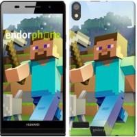 Чехол для Huawei Ascend P6 Minecraft 4 2944c-39