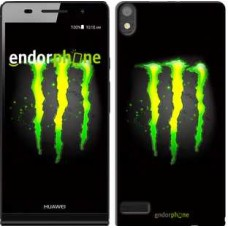 Чехол для Huawei Ascend P6 Monster energy 821c-39