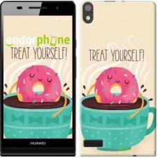 Чехол для Huawei Ascend P6 Treat Yourself 2687c-39