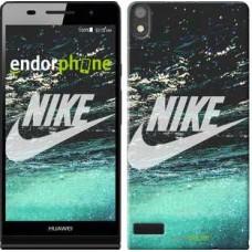 Чехол для Huawei Ascend P6 Water Nike 2720c-39