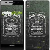 Чехол для Huawei Ascend P6 Whiskey Jack Daniels 822c-39
