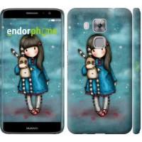 Чехол дя Huawei Nova Plus Девочка с зайчиком 915m-961