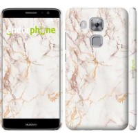 Чехол дя Huawei Nova Plus Белый мрамор 3847m-961