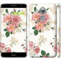 Чехол дя Huawei Nova Plus цветочные обои v1 2293m-961