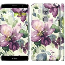 Чехол дя Huawei Nova Plus Цветы акварелью 2237m-961