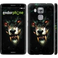 Чехол дя Huawei Nova Plus Дьявольский волк 833m-961