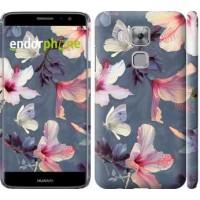 Чехол дя Huawei Nova Plus Нарисованные цветы 2714m-961
