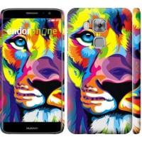 Чехол дя Huawei Nova Plus Разноцветный лев 2713m-961