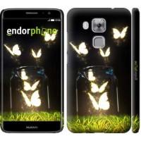Чехол дя Huawei Nova Plus Светящиеся бабочки 2983m-961