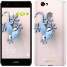 Чехол для Huawei Nova Гекончик 1094m-439