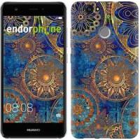Чехол для Huawei Nova Золотой узор 678m-439
