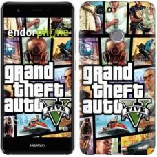 Чехол для Huawei Nova GTA 5. Collage 630m-439