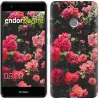 Чехол для Huawei Nova Куст с розами 2729m-439