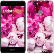 Чехол для Huawei Nova Розовые пионы 2747m-439