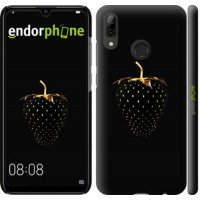Чехол для Huawei P Smart 2019 Черная клубника 3585m-1634