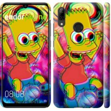 Чехол для Huawei P Smart 2019 Crazy simpson 4126m-1634