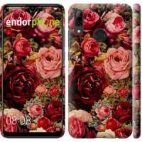 Чехол для Huawei P Smart 2019 Цветущие розы 2701m-1634