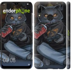Чехол для Huawei P Smart 2019 gamer cat 4140m-1634
