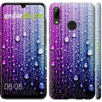 Чехол для Huawei P Smart 2019 Капли воды 3351m-1634