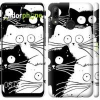 Чехол для Huawei P Smart 2019 Коты v2 3565m-1634