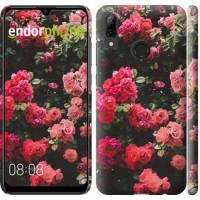 Чехол для Huawei P Smart 2019 Куст с розами 2729m-1634