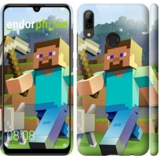 Чехол для Huawei P Smart 2019 Minecraft 4 2944m-1634