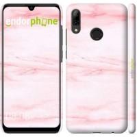 Чехол для Huawei P Smart 2019 розовый мрамор 3860m-1634