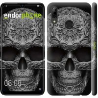 Чехол для Huawei P Smart 2019 skull-ornament 4101m-1634