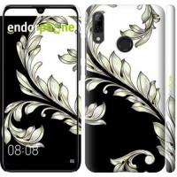 Чехол для Huawei P Smart 2019 White and black 1 2805m-1634