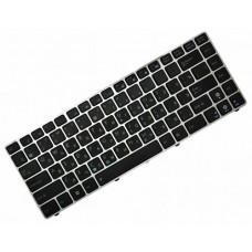 Клавиатура для ноутбука Asus UL30, UL30A, UL30VT, UL80, A42, A42J, K42, K42D, K42F, K42J, K43, N82, X42 RU, Black, Silver frame (04GNWT1KRU00)