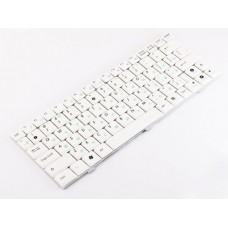 Клавиатура для ноутбука Asus Eee PC 1000, 1000H, 1000HA, 1000HE, 1000HC, 1000H, 1002HA, 904, 904HA, 904HD, 905 RU, White (04GOA0D1KRU10)