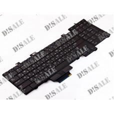 Клавиатура для ноутбука Dell Precision M6400 RU, Black, With point stick (0D119R)